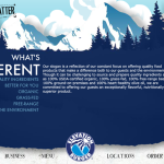 Elevation Burger homepage
