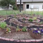 First grade spiral garden