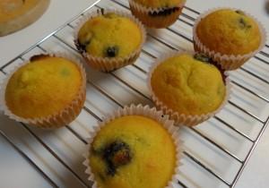 Blueberry muffins - grain-free
