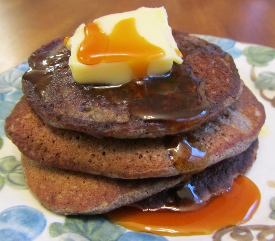 Buckwheat Pancakes – a delicious, earthy, family favorite