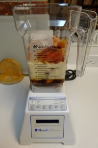Peach Ice Cream - Blendtec