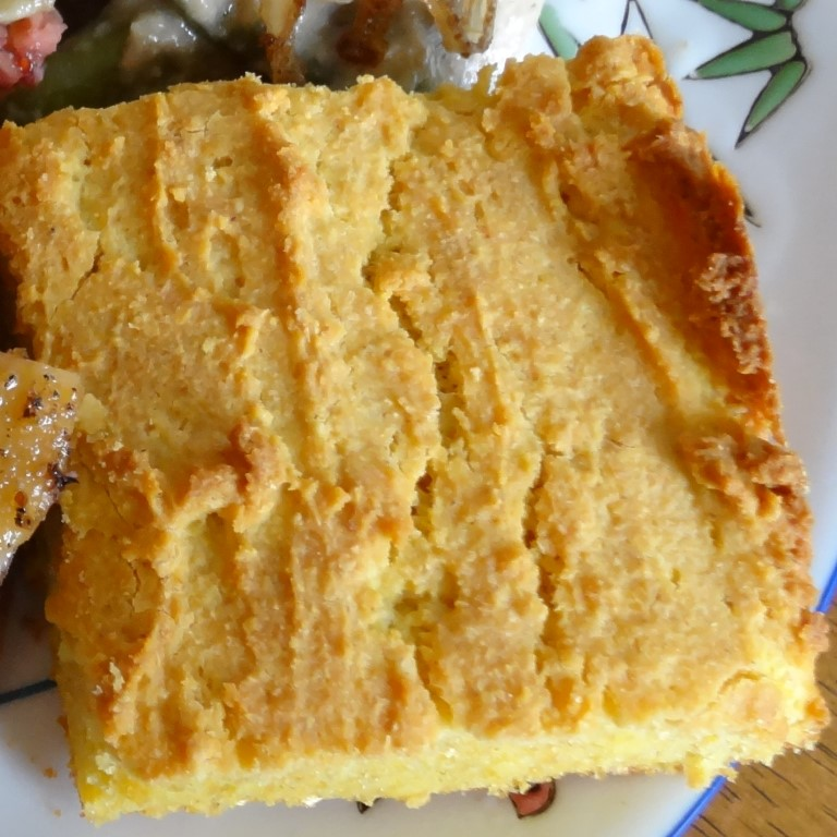 Cornbread – Gluten-Free, Made with Sprouted Corn Flour