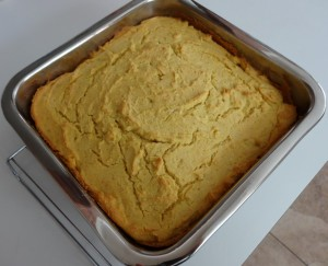 Sprouted Flour Cornbread