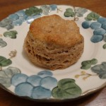 Sprouted flour biscuit