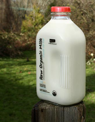 how to drink raw milk